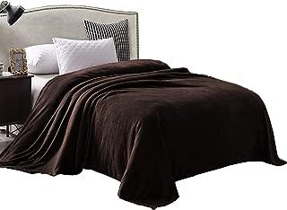 Exclusivo Mezcla Queen Size Flannel Fleece Velvet Plush Bed Blanket as Bedspread/Coverlet/Bed Cover (90