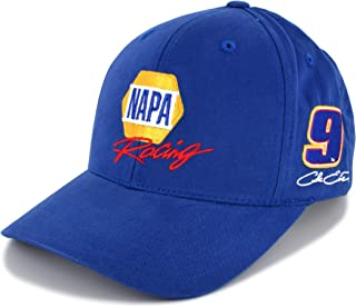 Checkered Flag Chase Elliott Blue NAPA Racing Sponsor NASCAR Hat