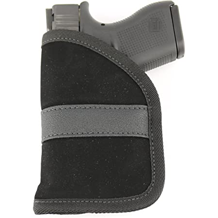 ComfortTac Ultimate Pocket Holster | Ultra Thin for Comfortable Concealed Carry | Compatible with Most Pistols and Revolvers | Compatible with Glock, S&W, Ruger, Taurus, & More