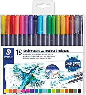 ステッドラー カラー筆ペン DUO 18色 3001 TB18