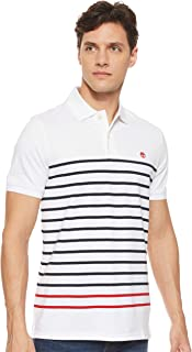 Timberland Men's SS Millers River Stripe Pique Polo