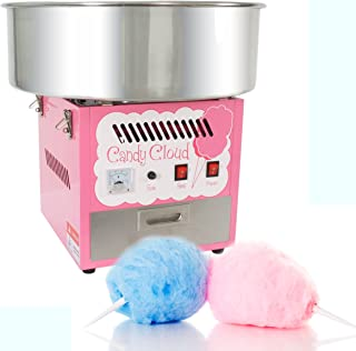 FunTime Commercial Quality Cotton Candy Floss Machine Maker - FT1000CC-P