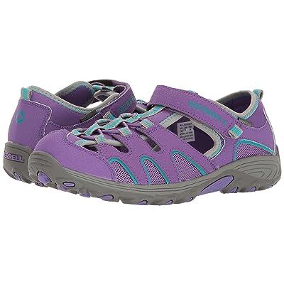 Merrell Kids Hydro H2O Hiker Sandals (Big Kid) (Purple/Grey) Girl