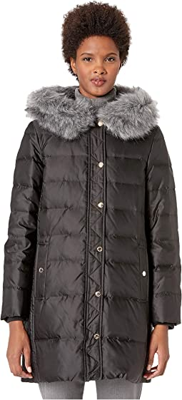 66e69b257796 Mcq double breasted faux fur coat | Shipped Free at Zappos