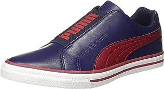 Puma Unisex's Cappela Idp Peacoat-Rhubarb White Sneakers