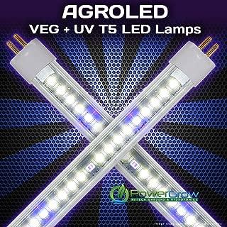 LED T5 Bulbs - AgroLED iSunlight Veg + UV T5 LED Lamps (8, 4' (4 Foot))
