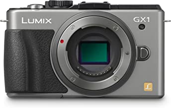 Panasonic Lumix DMC-GX1 16 MP Micro 4/3 Mirrorless Digital Camera with 3-Inch LCD Touch Screen Body Only (Silver)