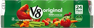 V8  Original 100% Vegetable Juice, 5.5 oz. Can (Pack of 24)