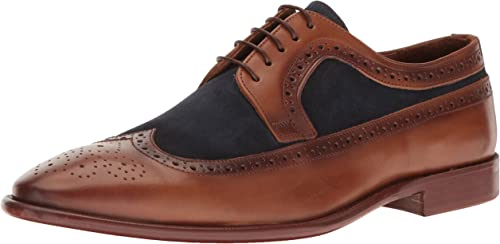 Kenneth Cole New New New York Hommes's Super Hero Oxford, Cognac, 10 M US 2c3