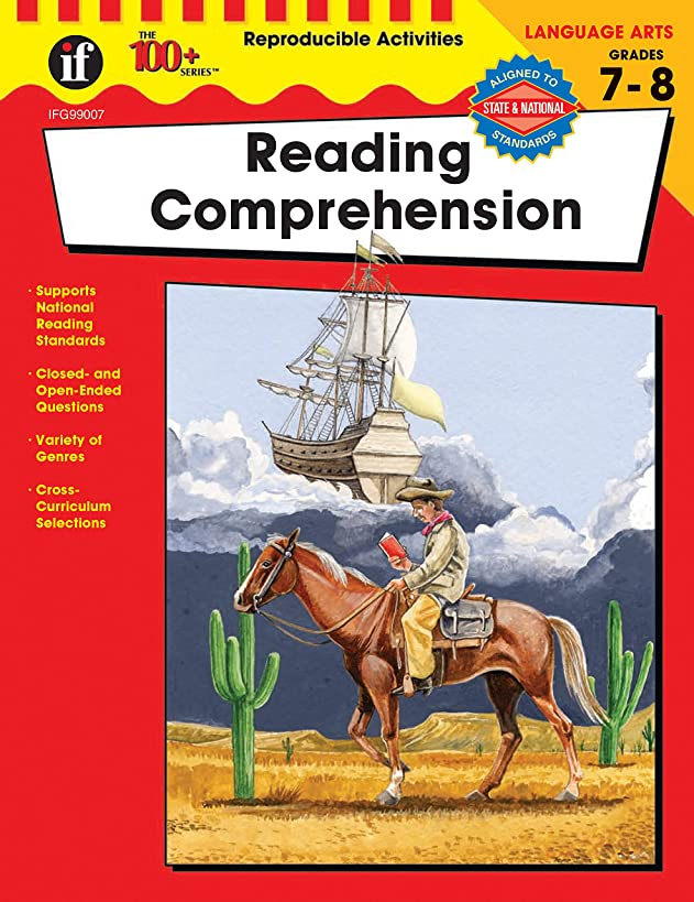 Reading Comprehension, Grades 7 - 8 (The 100+ Series?)