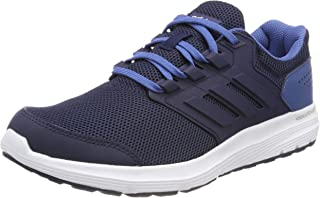 adidas Galaxy 4 Shoes Shoes - Low (Non Football) For Men Size: 9.5 EU (Blue CP8828_Collegiate Navy/Collegiate Navy/Ash Blue S18)