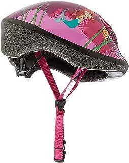 Raleigh Girl's Little Terra Mermaid Cycle Helmet - Black/Green, 48-54 cm