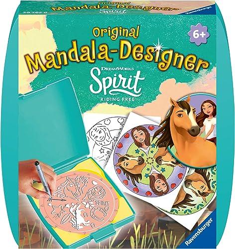 Ravensburger- Mandala Mini Spirit Loisir Créatif, 4005556297658