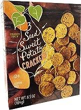Trader Joes Gluten Free 3 Seed Crackers 6.5oz (Sweet Potato)