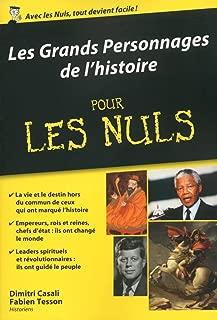 Les Grands Personnages de l'histoire pour les Nuls poche (POCHE NULS) (French Edition)