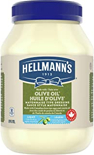 Hellmann's LightwithOliveOil Mayonnaise Type Dressing 890 ML