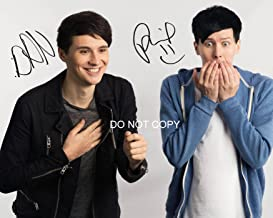 """Dan and Phil Reprint Signed 11x14/"""" Poster Photo RP Autographed #1 YouTube"""