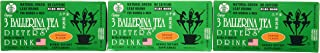 3 BALLERINA TEA DIETERS DRINK EXTRA STRENGH ORANGE FLAVOR (3 boxes)