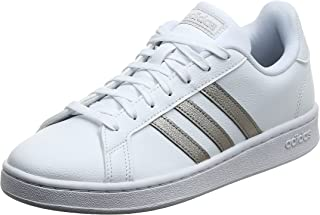 adidas Womens Grand Court Shoes, Color: