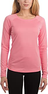 Women's UPF 50+ UV Sun Protection Performance Long Sleeve T-Shirt