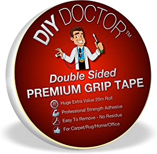 DIY Doctor - Cinta adhesiva extrafuerte de doble cara para