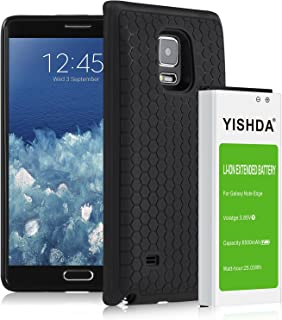 YISHDA Galaxy Note Edge Battery, 6500mAh Replacement Battery Compatible with Samsung Galaxy Note Edge with Back Cover & TPU Case for N915 N915U N915A N915V N915P | Samsung Note Edge Extended Battery