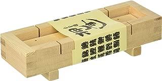 JapanBargain 3131, Large Wooden Sushi Press Mold Oshizushi Hako