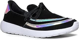 YRU WomenÕs Lightweight Athletic Sneaker Ð Casual Fashion Jogger Walking Trainer Ð Comfortable Lightweight Sport Shoe Ð Beam