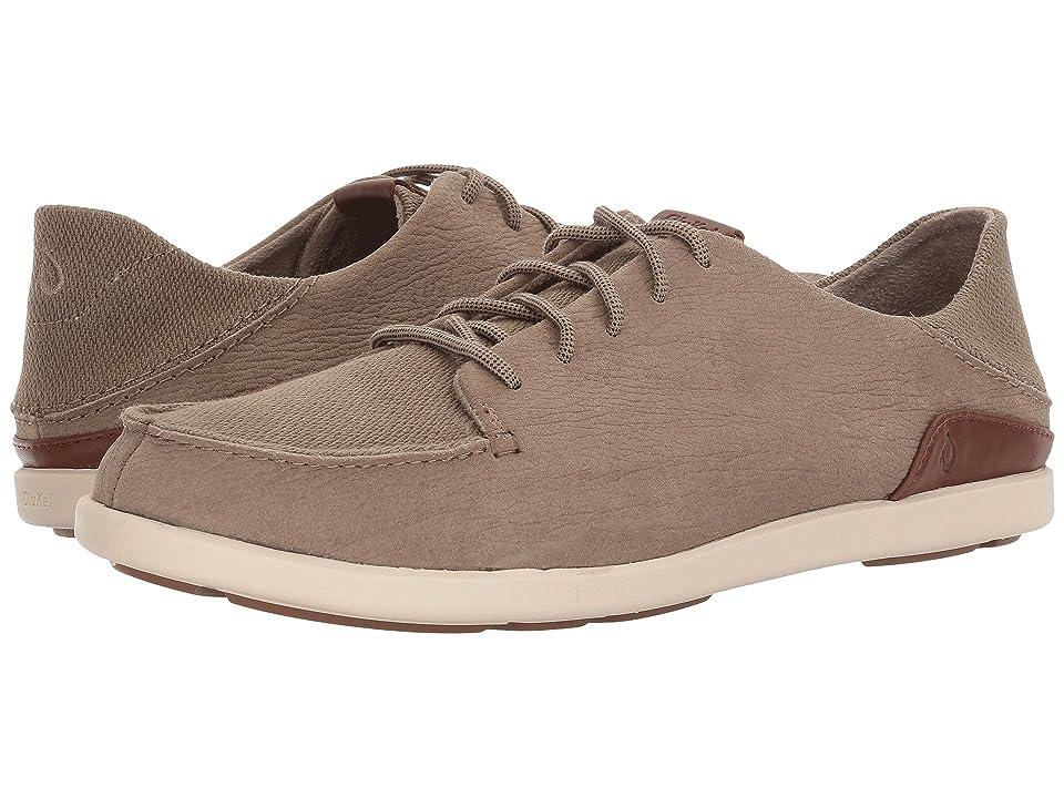 OluKai Manoa Leather (Clay/Toffee) Men