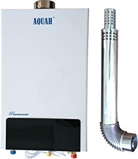 AQUAH PARAMOUNT DIRECT VENT NATURAL GAS TANKLESS WATER HEATER 16L / 4.3 GPM