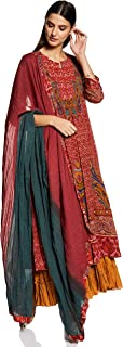 Women's Cotton & Viscose & Georgette Readymade Salwar Suit