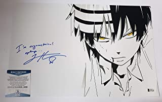 Todd Haberkorn autographed 11x17 Photograph Death the Kid Soul Eater w/insc.