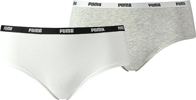 Puma Culotte Lot de 2 Femme : Amazon.fr: Vêtements