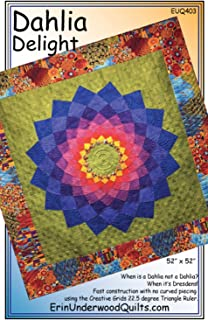 Dahlia Delight Quilt Pattern by Erin Underwood Quilts (EUQ403)