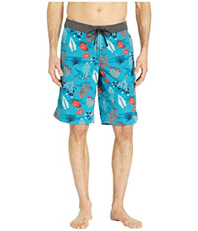 The North Face Classic V Boardshorts (Crystal Teal/Joshua Tree Print) Men