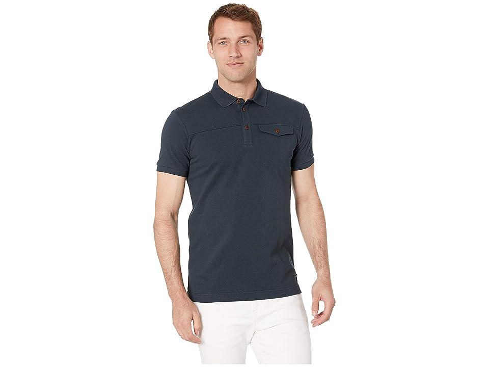 Fjallraven Greenland Polo Shirt (Dark Navy) Men