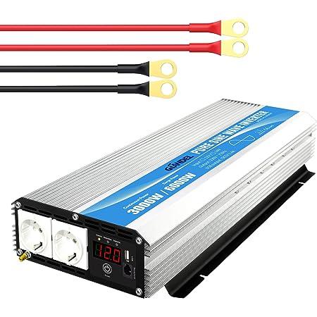 3000w Wechselrichter 12v Auf 230v Reiner Sinus Elektronik
