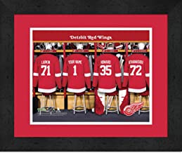 personalized red wings jersey