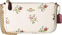 COACH - Nolita Wristlet 19 in Cross Stitch Floral Print
