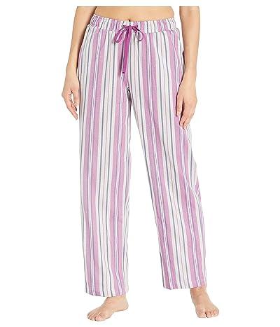Karen Neuburger Glamour Long Pants (Stripe Grey) Women
