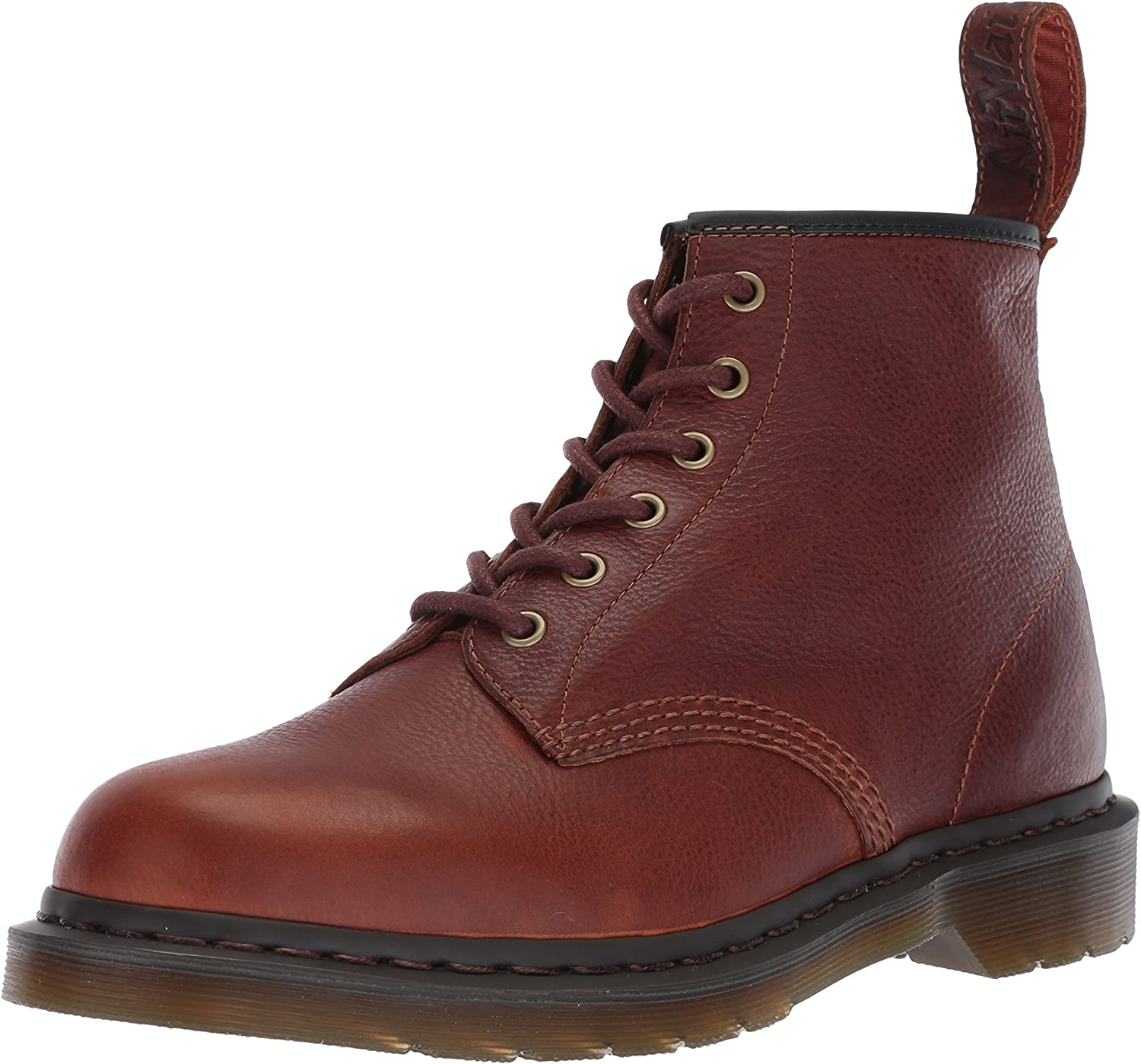 Dr. Martens Unisex-Adult 101 Tan Harvest Leather Fashion Boot