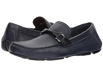 Salvatore Ferragamo Granprix Driving Loafer (Ultramarine) Men