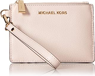 MICHAEL Michael Kors Mercer Leather Coin Purse (Soft Pink)