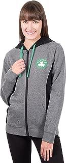 Ultra Game Women's NBA Standard Full Zip Hoodie Sweatshirt Dime Jacket