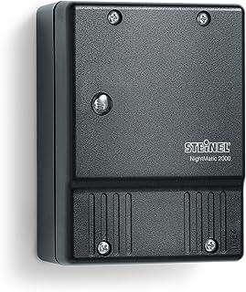 STEINEL Schemerschakelaar met lichtsensor NightMatic 2000, schemersensor voor buiten, automatische verlichting, IP54, kleu...