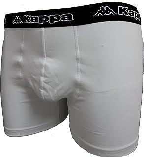 Kappa 6 Boxer Uomo Underwear Elastico Esterno Art. K1211 Basic Collection Cotone Elasticizzato