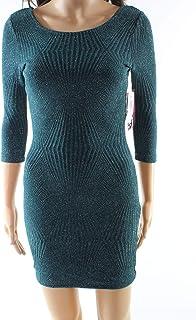 73b6c3eb1 Trixxi Womens Juniors Metallic Open Back Party Dress