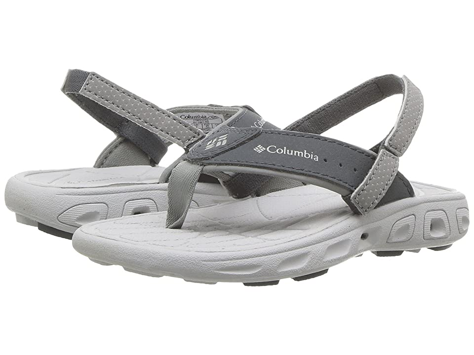 Columbia Kids Techsun Flip (Toddler/Little Kid) (Monument/Silver Grey) Boys Shoes