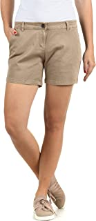 DESIRES Kathy Damen Chino Shorts Bermuda Kurze Hose Mit Stretch-Anteil Regular Fit