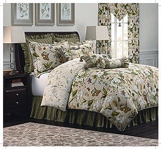 Williamsburg Garden Images 4-Piece Queen Comforter Set
